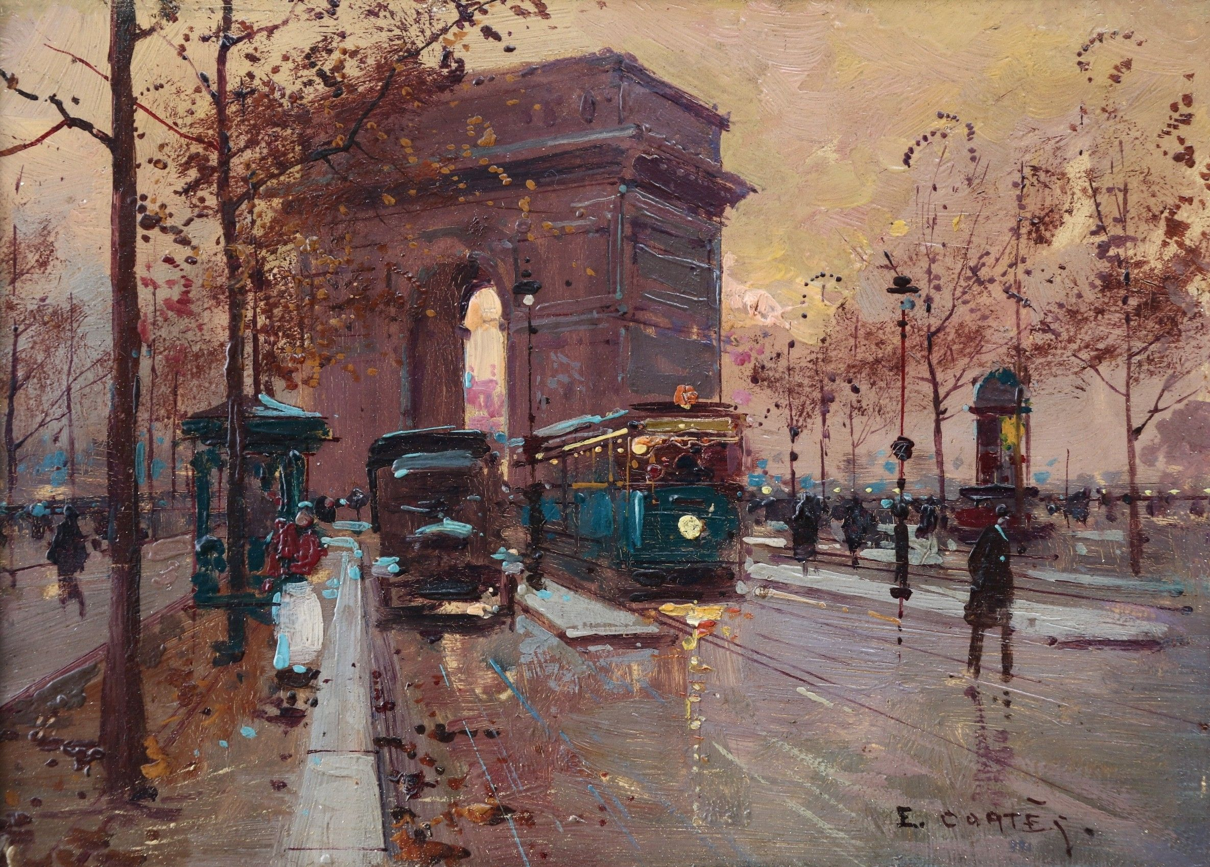 edouard cortes paintings for sale