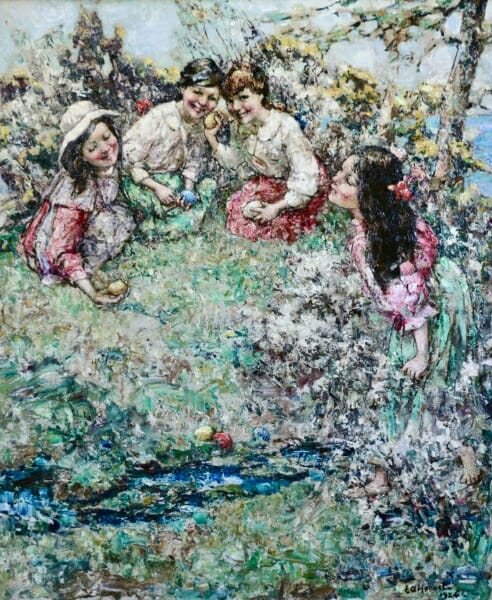 edward atkinson hornel paintings