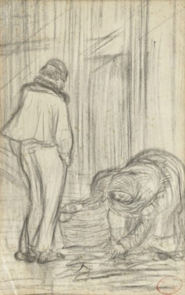 edgar degas pencil drawings